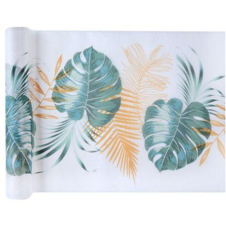 Chemin de table polyester non tissé décor Chemin de table Nature addict pour une décoration de table pour amoureux de la...