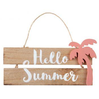 Pancarte Hello summer