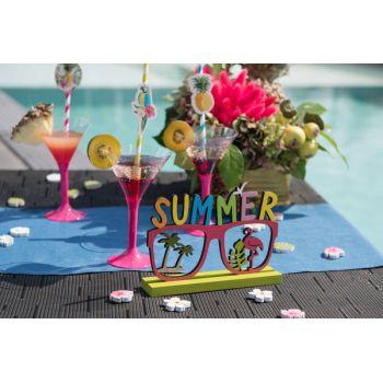 Décor à poser summer flamingo