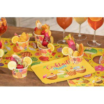 5 plateaux Tutti frutti