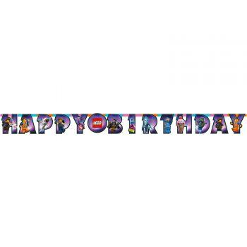 Banderole happy birthday Lego movie