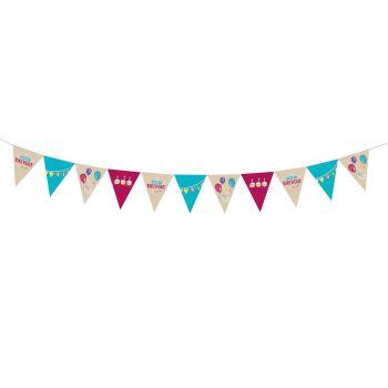 Guirlande de fanions My Birthday Party