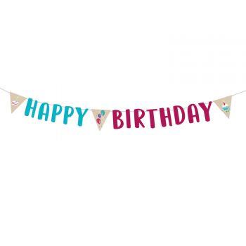 Banderole Happy Birthday My Birthday Party