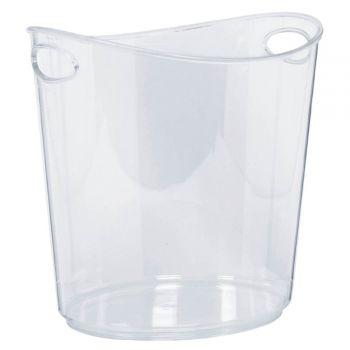 Seau à glace transparent