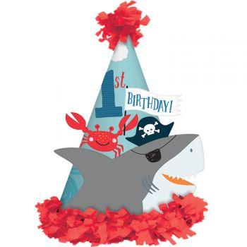 6 Chapeaux de fête Pirate Ahoy