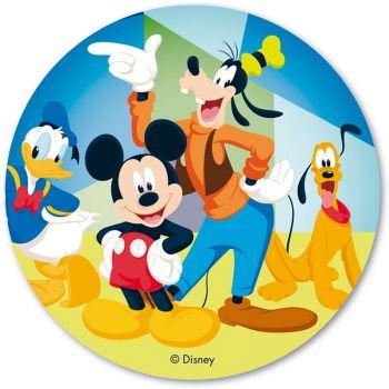Disque azyme Mickey amis 20 cm