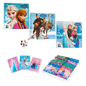 Puzzles Reine des neiges avec biscuits