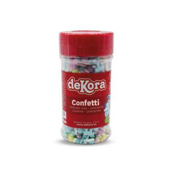 Confettis en sucre Licorne