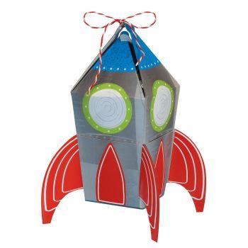 8 Boîtes cadeaux fusée