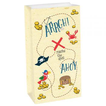 8 Sachets papier Pirate Ahoy