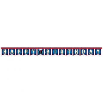 Banderole Happy Birthday Magic party