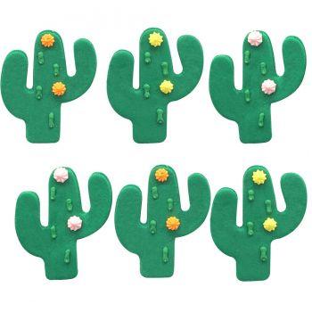 6 Cactus en sucre