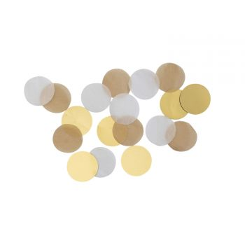 Confettis papier gold brush