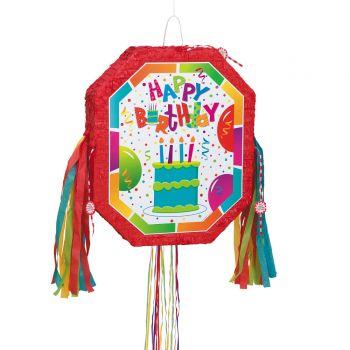 Pinata pull Birthday confettis