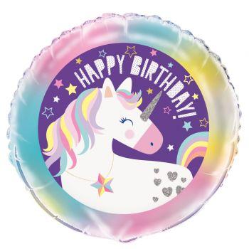 Ballons hélium Licorne party