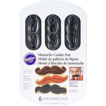 Moule à biscuits WILTON moustache