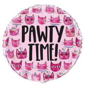 Ballon hélium pink cats