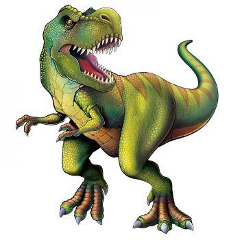 Décor géant dinosaure tyrannosaure