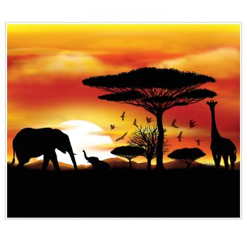 Décor mural Savane