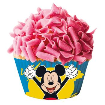 Caissettes à cupcakes Mickey x 50