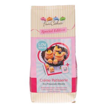 Mix crème pâtissière allégé en sucre Funcakes 400gr