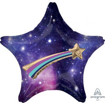 Multi ballons hélium étoile filante galaxy