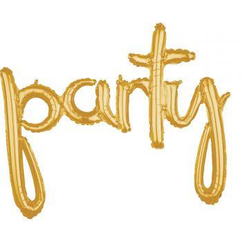 Ballon alu party or
