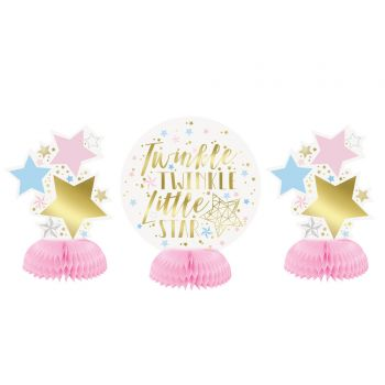 3 Décors de table Twinkle little star