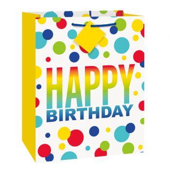Sac cadeau Birthday spots