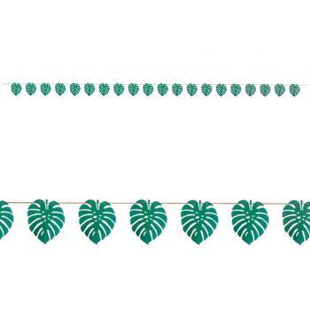 Guirlande feuilles en papier 5M