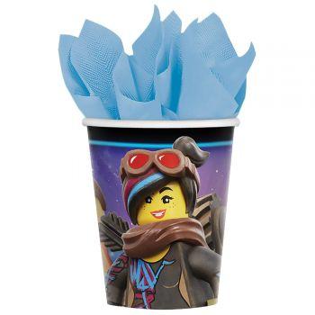 8 Gobelets Lego movie 2
