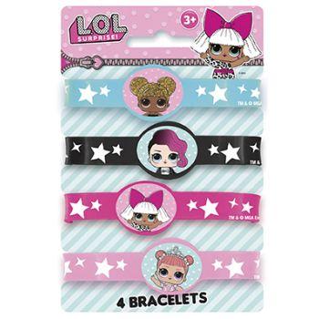 4 bracelets LOL Surprise