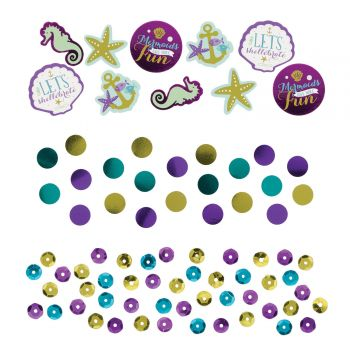 Confettis de table sirène wishes