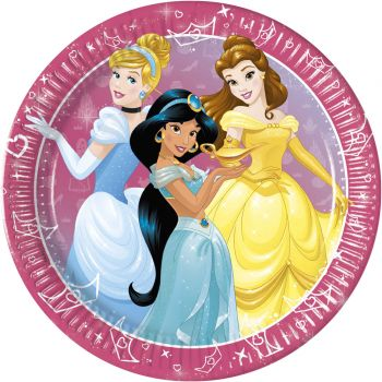 8 Assiettes Princesses daydream