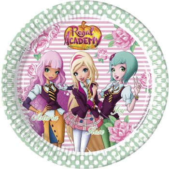 8 Assiettes Regal academy