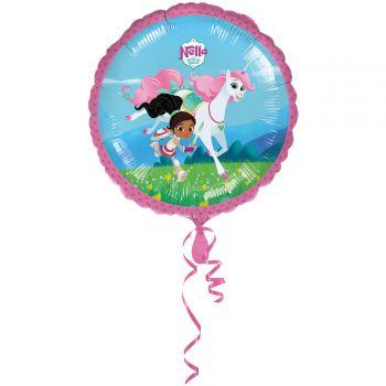 Ballon hélium Nella princesse chevalier