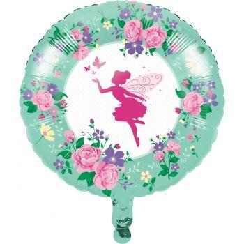 Ballon hélium féérie florale
