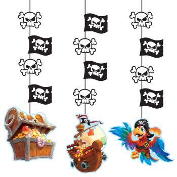 3 Guirlandes trésor de pirate