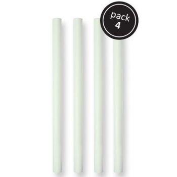 4 Dowel rods en plastique 31cm