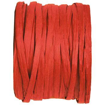 Bobine raphia rouge 20m