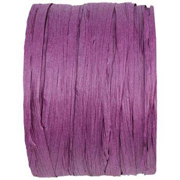 Bobine raphia violet 20m
