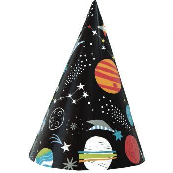 8 Chapeaux de fête Espace