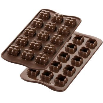Moule à chocolat en silicone Silikomart choco game