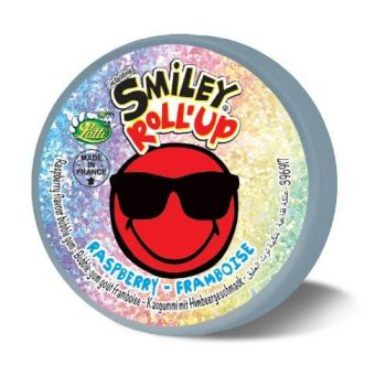 Roll'up Smiley framboise
