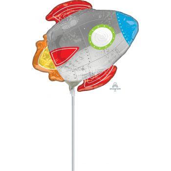 Mini ballon fusée gonflé