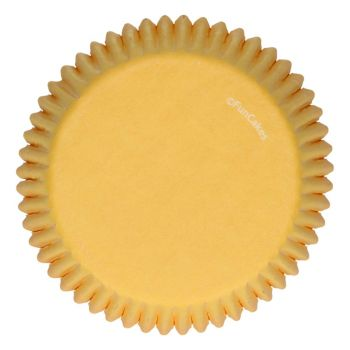 48 Caissettes jaune Funcakes