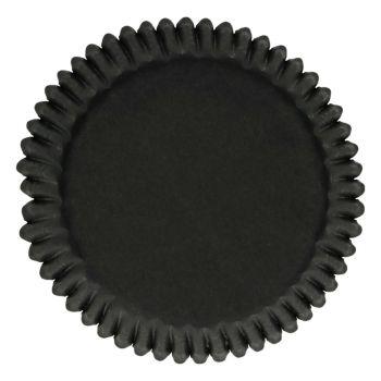 48 Caissettes noires Funcakes