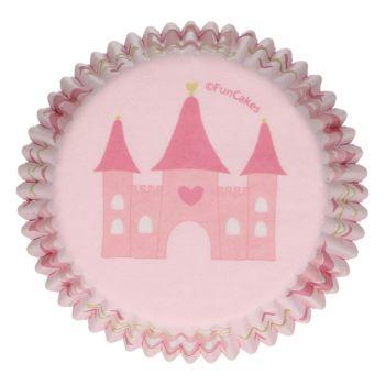 48 Caissettes Princesse Funcakes