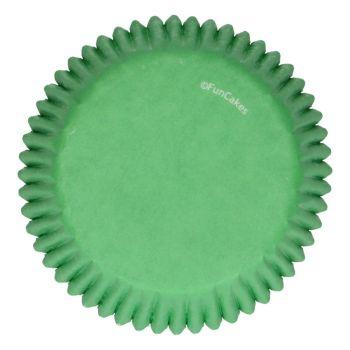 48 Caissettes vert gazon Funcakes