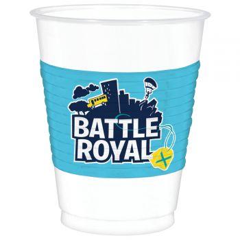 8 gobelets Battle Royal